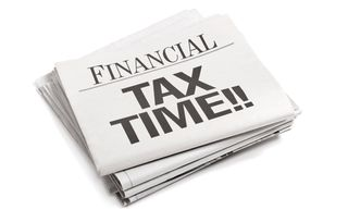 Tax Time - iStock_000019327110Small